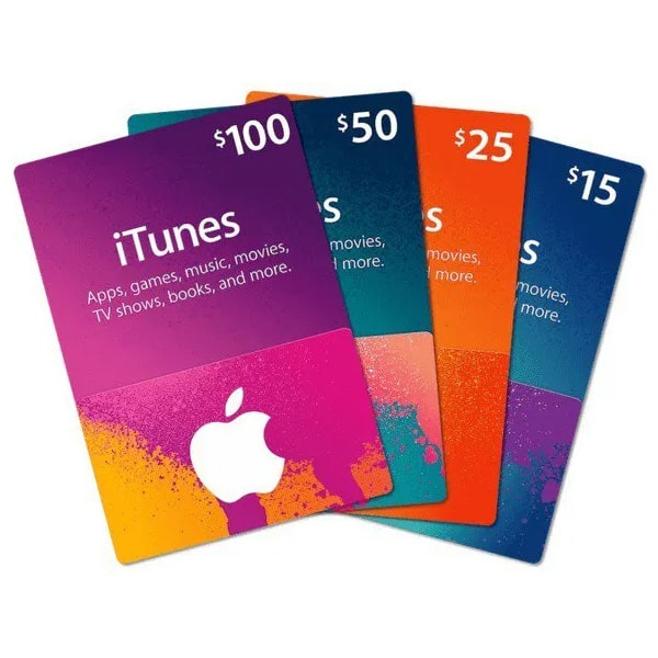 گیفت کارت اپل - فروشگاه اینترنتی اپل تلکام